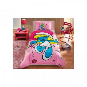 Детское постельное белье 1,5 сп. , Smurfs Sirine TAC