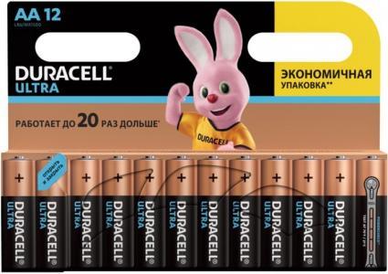 Батарейка алкалиновая UltraPower AA (LR06) 12 шт. Duracell