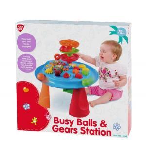Игровой центр  Стол с шарами и шестеренками Playgo