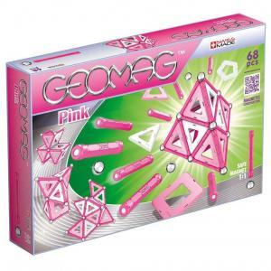 Магнитный конструктор  Pink 68 деталей Geomag