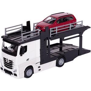 Игровой набор  Street fire Mercedes-benz actros, 1:43 Bburago. Цвет: белый