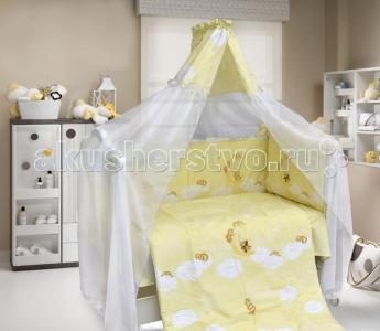 Комплект в кроватку  Лунный мишка (7 предметов) Bombus
