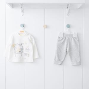 Комплект джемпер/брюки , цвет: желтый Kidaxi