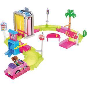Набор с куклой Barbie В движении Мойка машины Mattel