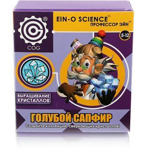 Набор для опытов  Выращивание кристаллов Голубой сапфир Профессор Эйн. Цвет: фиолетовый
