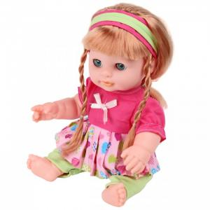 Кукла-Пупсик с длинными волосами озвучен 30 см 72294 Lisa Jane
