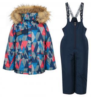Комплект куртка/брюки  Нахаленок, цвет: синий Аврора