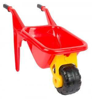 Тачка  Садовод с большой лопатой цвет: красный Cavallino