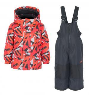 Комплект куртка/полукомбинезон , цвет: оранжевый Zingaro By Gusti
