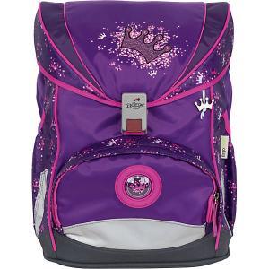 Ранец Derdiedas Ergoflex Superlight Фиолетовая корона, c наполнением. Цвет: лиловый