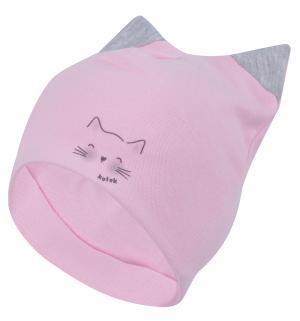 Шапка  Kotek, цвет: розовый Mirmar