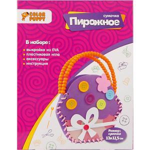 Сумочка своими руками  Пирожное Color Puppy. Цвет: разноцветный