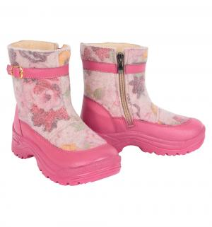 Валенки , цвет: розовый Филипок