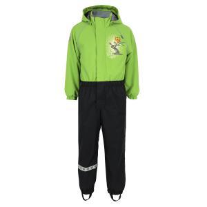 Комбинезон  утепленный Peto, цвет: зеленый/черный Lappi Kids