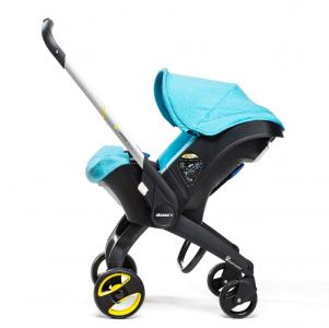 Коляска-автокресло Doona+, цвет голубой Simple Parenting