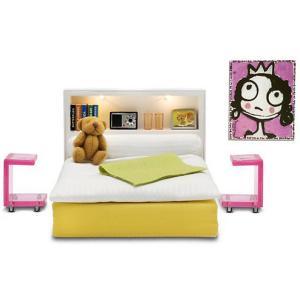 Мебель для домика  Стокгольм Спальня Lundby. Цвет: разноцветный