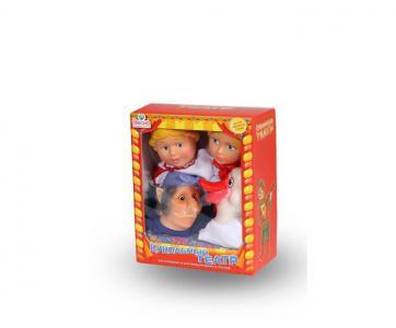 Кукольный театр 4 персонажа с ширмой 3 Весна