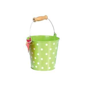 Ведро  Горох, салатовое Egmont Toys. Цвет: hellgrau/grün