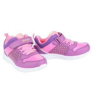 Кроссовки , цвет: фиолетовый Bi&Ki