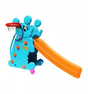 Горка  Мышка PS-027-1, цвет:синий Perfetto Sport
