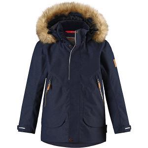 Утеплённая куртка  Outa Reima. Цвет: темно-синий