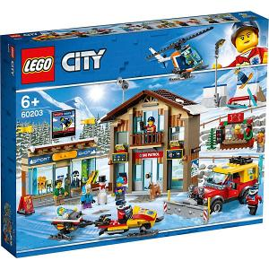 Конструктор  City Town Горнолыжный курорт 60203 LEGO