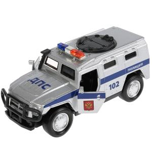 , Машина Бронемашина Полиция, 12см Технопарк