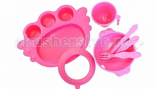 Набор детской посуды Ангел 7 предметов Uinlui