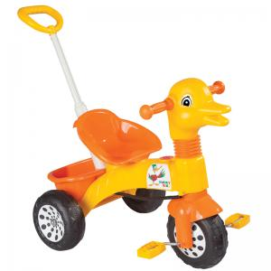 Трехколесный велосипед  Ducky с ручкой Pilsan