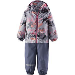 Комплект : куртка и полукомбинезон Lassie. Цвет: rosa/grau