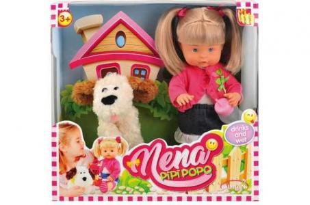 Кукла Nena с собачкой 36 см Dimian