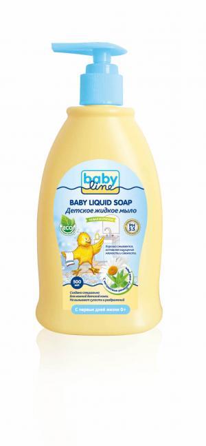 Мыло  жидкое Nature, 500 мл Baby Line