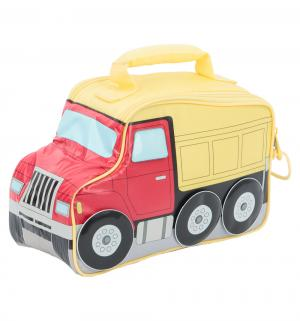 Сумка-термос  для питания Truck Novelty детская, цвет: красный/желтый Thermos