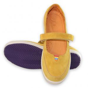 Туфли  Селина, цвет: Желтый Mamashoes