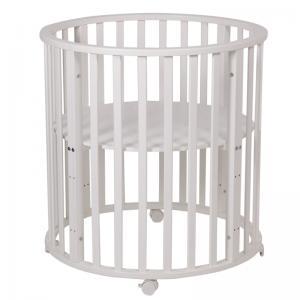 Кроватка  Simple 905, цвет: белый Polini