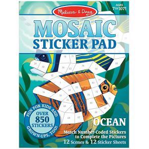 Набор  Мозаика-стикер Океан Melissa & Doug