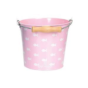 Ведро  Рыбки, светло-розовое Egmont Toys. Цвет: розовый