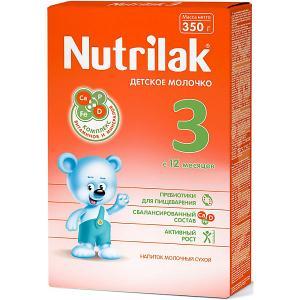 Молочный напиток  3, с 12 мес, 350 г Nutrilak