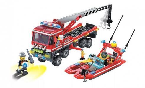 Fire Rescue (420 деталей) Enlighten Brick