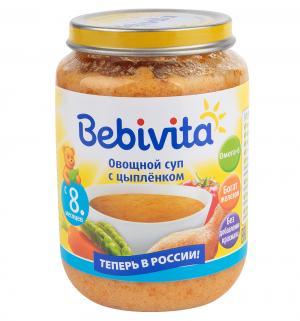 Суп  Овощной с цыпленком, 190 г, 1 шт Bebivita