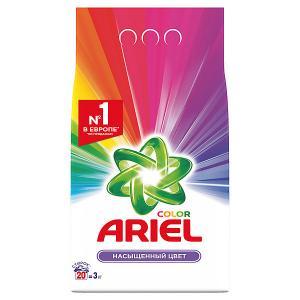Стиральный порошок  Color Автомат, 3 кг Ariel. Цвет: weiß/beige