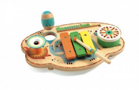 Деревянная игрушка  Музыкальный инструмент Карнавал Djeco