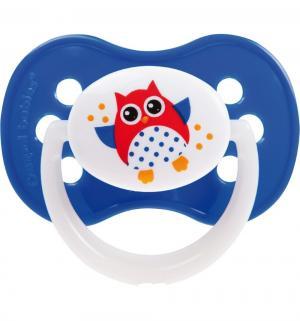 Пустышка  Owl силикон, с 18 мес Canpol