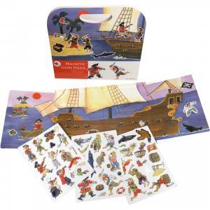 Магнитная игра  Пиратский корабль Egmont Toys