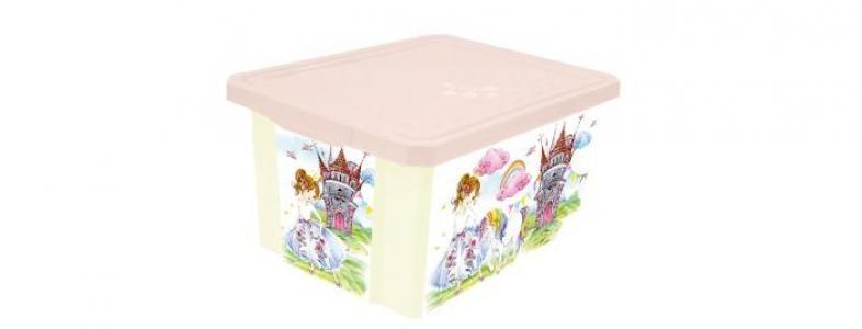 Ящик для хранения X-Box Сказочная принцесса 17 л Little Angel