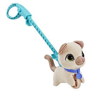Мягкая игрушка FurReal Friends Маленький питомец на поводке Кошка Hasbro