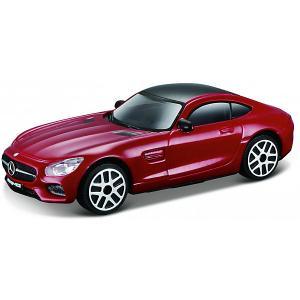 Машинка  Mercedes-AMG GT, 1:43 Bburago. Цвет: бордовый