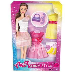 Кукла  Блестящий выход Ася, 28 см Toys Lab. Цвет: розовый
