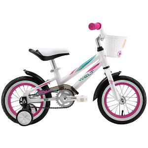 Двухколёсный велосипед  Pony 12, белый/фиолетовый Welt. Цвет: разноцветный
