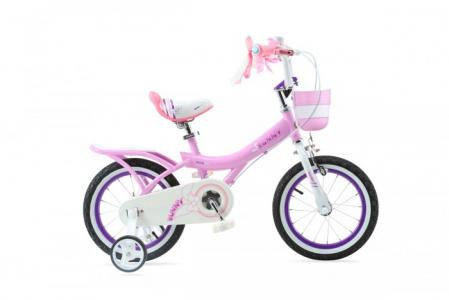 Велосипед двухколесный  Bunny Girl Steel 14 Royal Baby